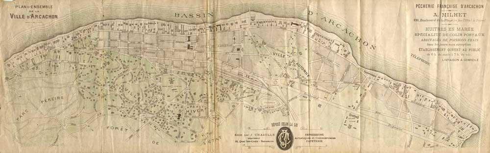 Plan Milhet vers 1900