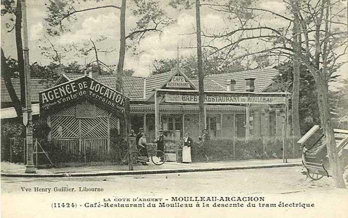 Café restaurant Moulleau