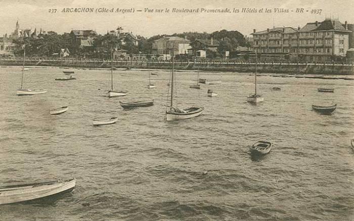 Hôtel de France vu du Bassin