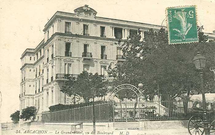 Grand Hôtel après 1906