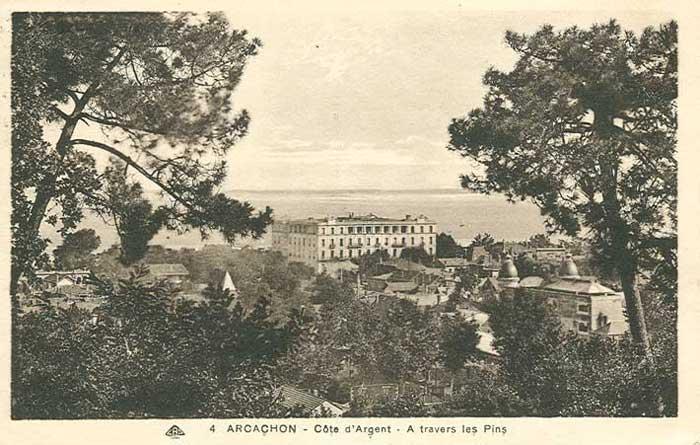 Grand Hôtel vu de la Ville d'Hiver