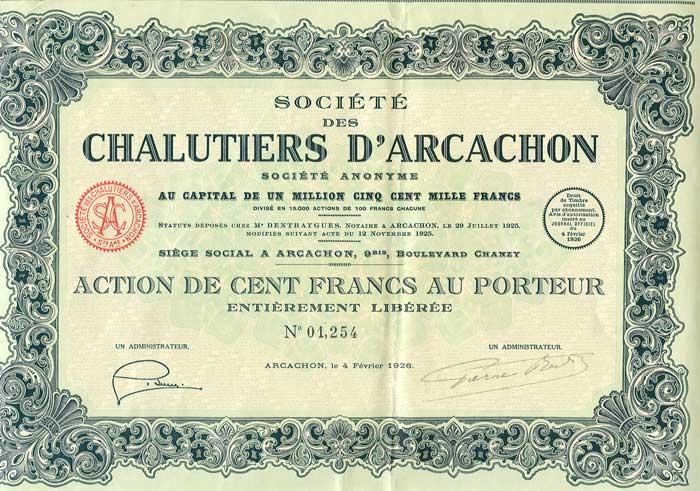 Action Chalutiers d'Arcachon