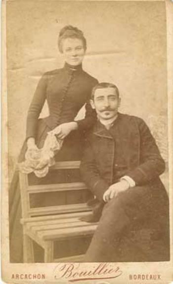 Couple par Bouillier