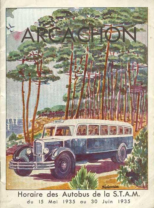 Horaires Autobus 1935