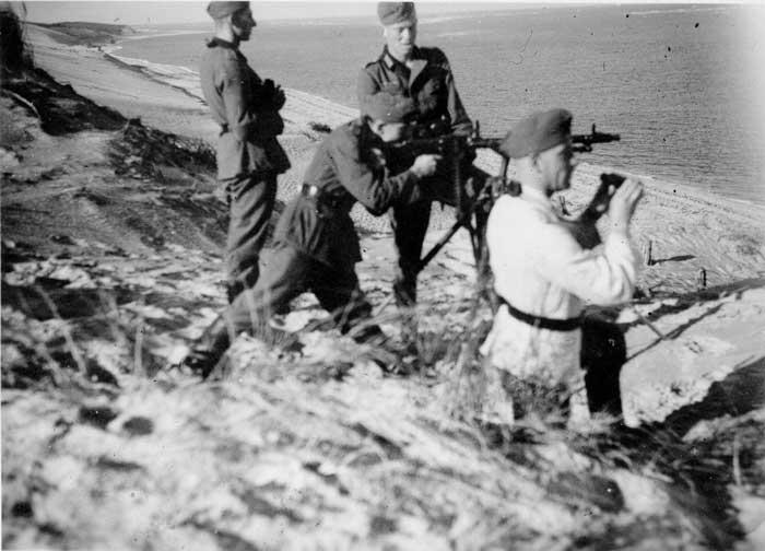 Les armes sur le Bassin