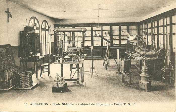 Le laboratoire de physique