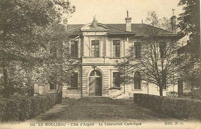 Entrée Sanatorium : pavillon Engrémy