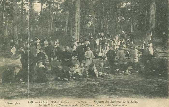Réfugiés parisiens inondations 1910