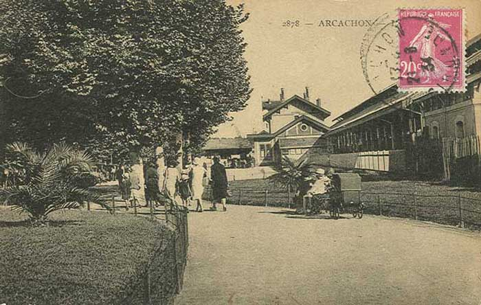 Gare Arcachon 1930