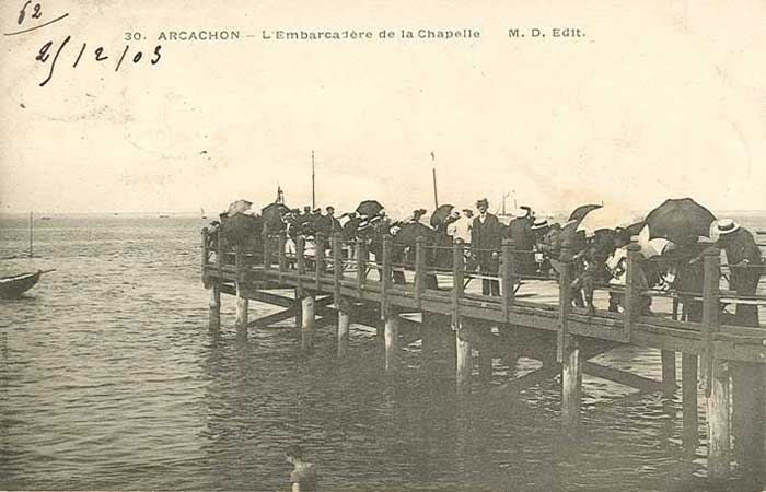 Jetée de la Chapelle 1903