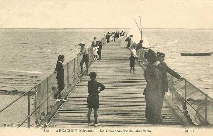 Jetée vers 1910