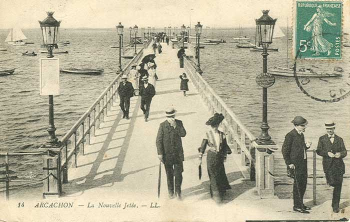 Jetée Thiers 1900