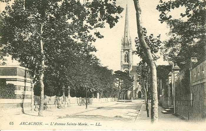 Allée Sainte-Marie