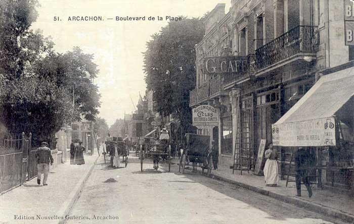 Boulevard de La Plage : garage