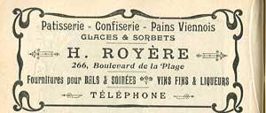 Pâtisserie Royère