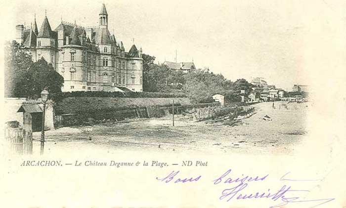 Deganne vers 1900