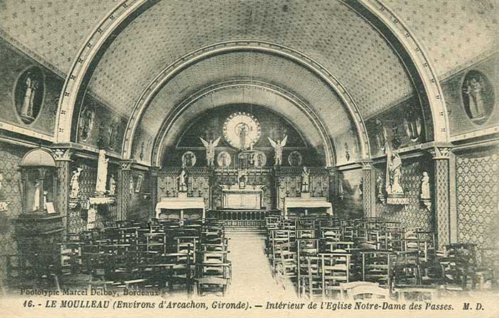 Intérieur Notre-Dame des Passes