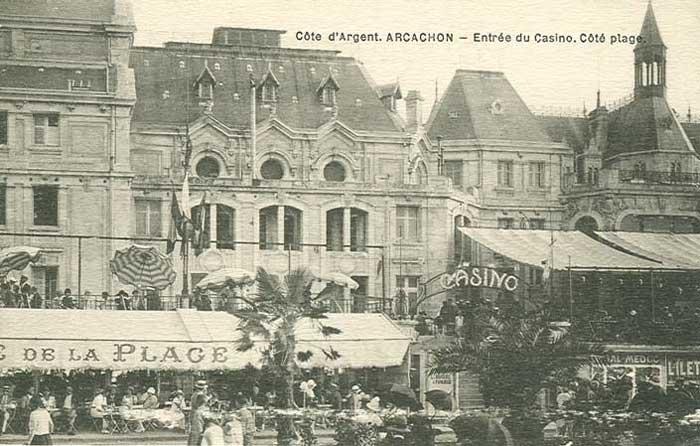 Casino Deganne, Café de La Plage