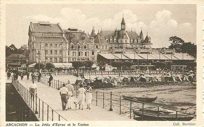 Plage et Jetéé Eyrac Casino