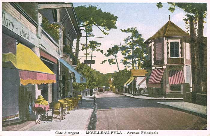 Boulevard Côte Argent Moulleau