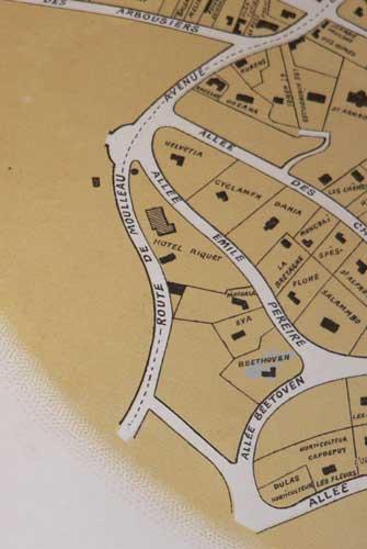 Plan Villa Beethoven Ducos