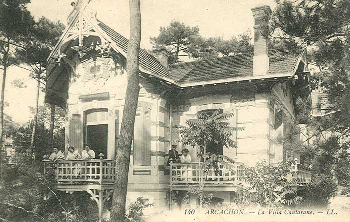 Villa Cantarrane : Ville d'Hiver
