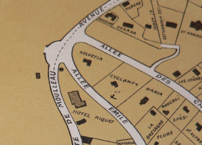 Plan quartier