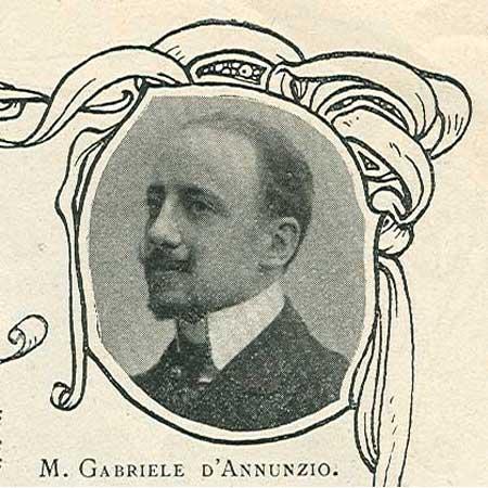 Gabriele d'Annunzio en 1905