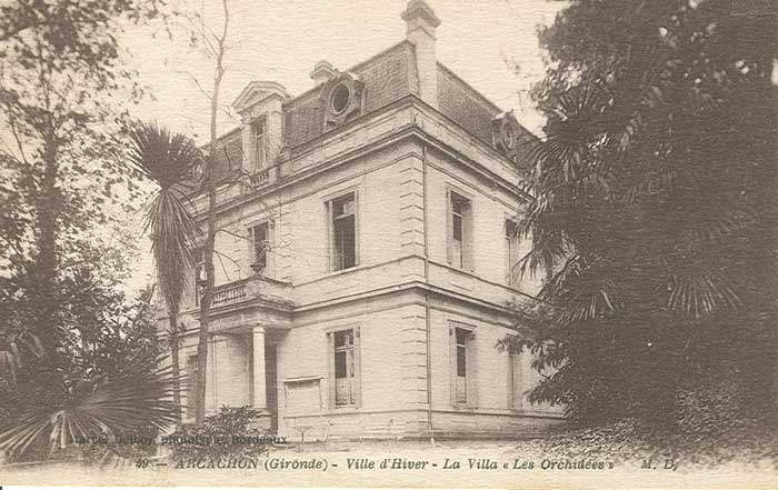 Villa Les Orchidées.