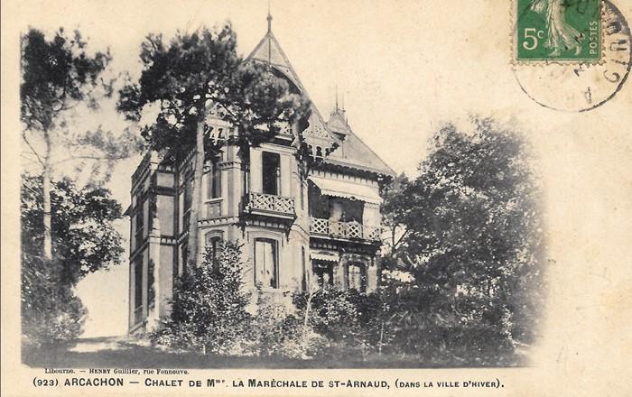 Chalet Marechale Saint-Arnaud