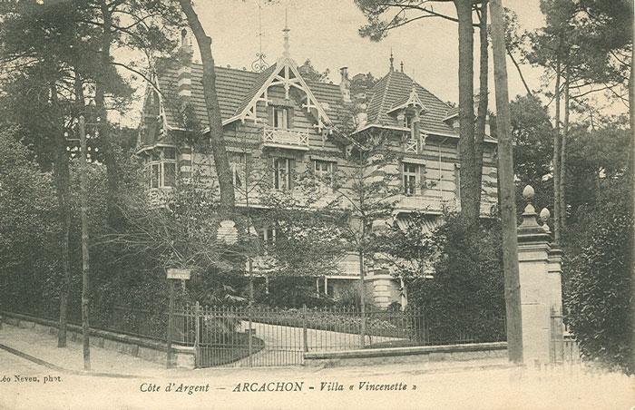 Vincenette vers 1910