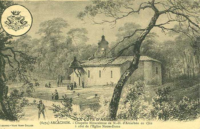 Chapelle miraculeuse vers 1722